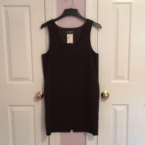 women's black petite wool jumper